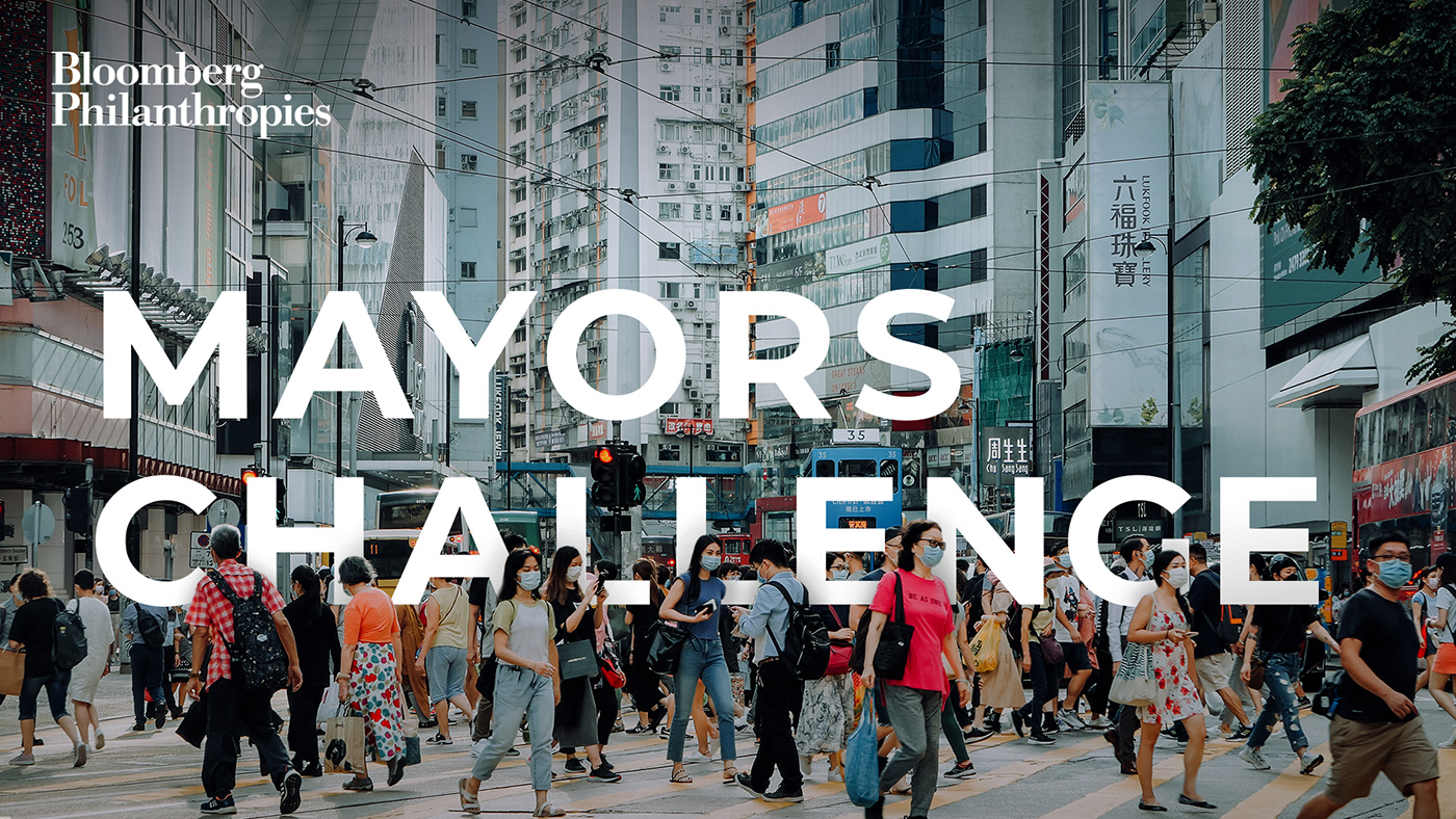 Mayors Challenge - streets of Hong Kong