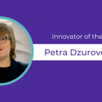 Purple background Celebrates Petra as Innovator of the Week