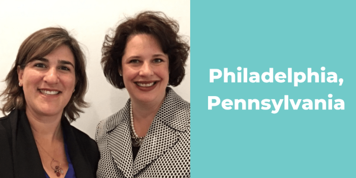 Philadelphia's Lisa Varon (left) and Rhonda McKitten_Content