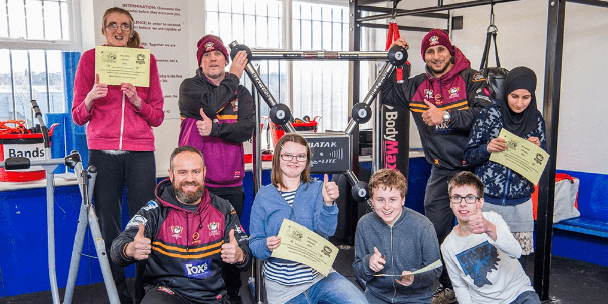 The Batley Bulldogs rugby club is one of many groups helping make the sharing site Comoodle a success in Kirklees, U.K.